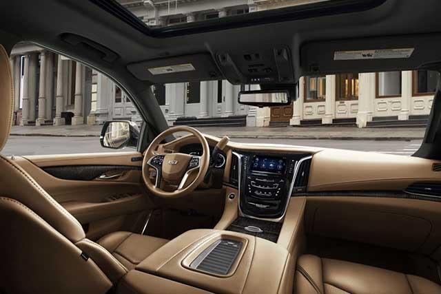 2020 Cadillac Escalade interior