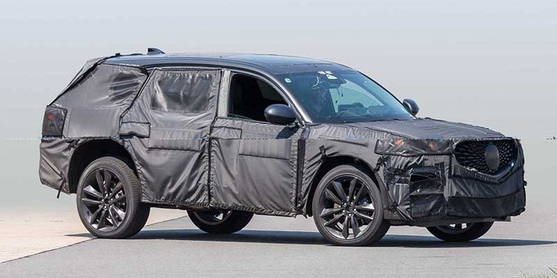 2020 Acura MDX Type S spy photos