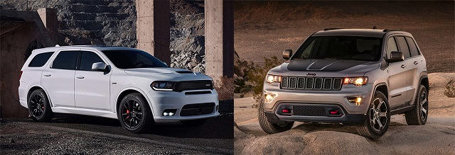 2021 Jeep Grand Cherokee vs dodge durango