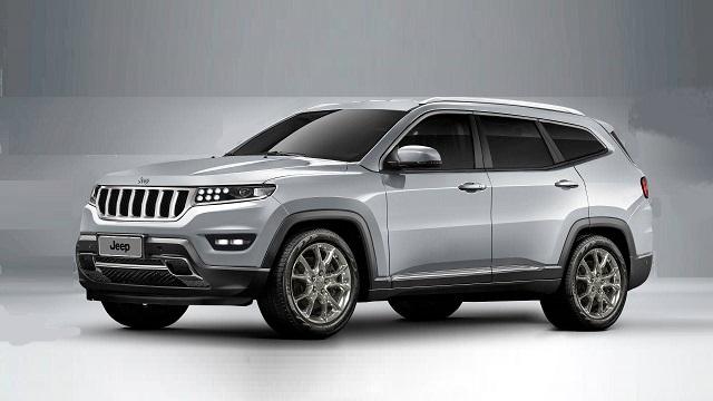 2021 Jeep Wagoneer platform