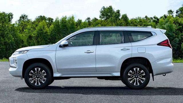 2020 Mitsubishi Montero changes