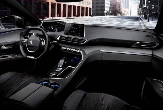 2020 Peugeot 5008 interior