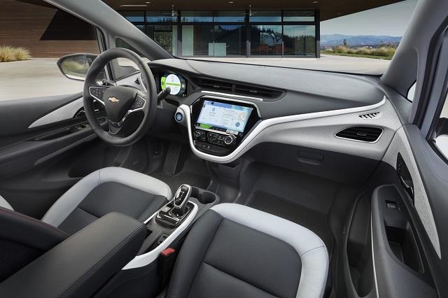 2020 Chevy Bolt interior