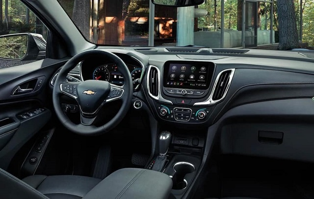2020 Chevy Equinox LT interior