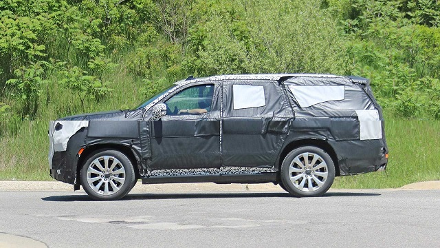 2020 Chevy Tahoe High Country spied