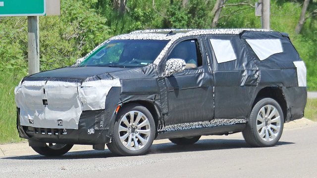 2020 Chevy Tahoe High Country test mule