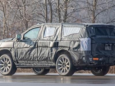 2021 Cadillac Escalade spied