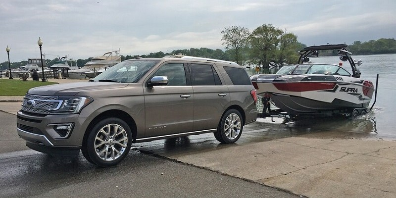 2021 Ford Expedition towing capacity