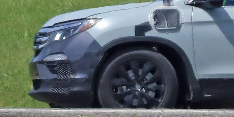 2021 honda pilot spy  car wallpaper