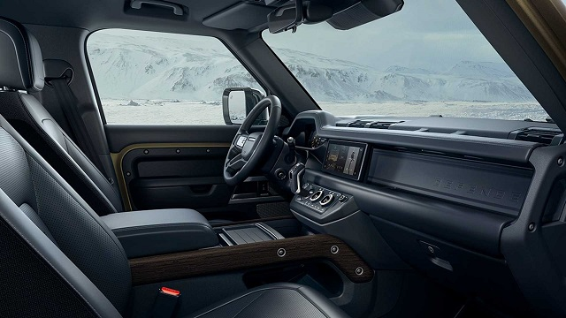 2021 Land Rover Defender interior