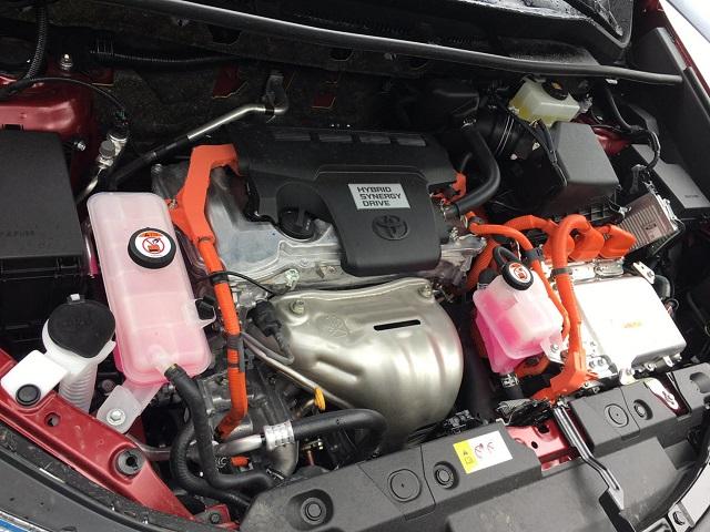 2021 Toyota RAV4 Hybrid specs