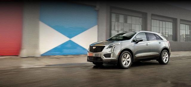 2022 Cadillac XT5 changes