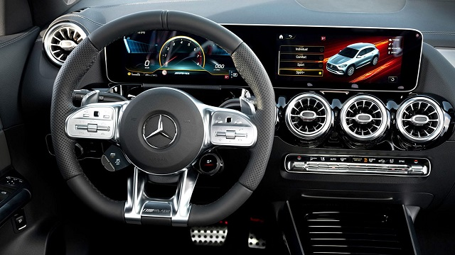2021 Mercedes Benz GLA amg interior