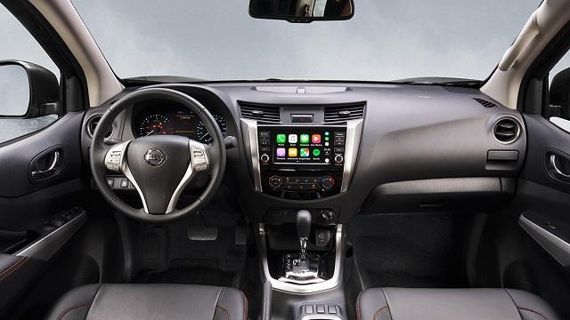 2021 Nissan Paladin interior