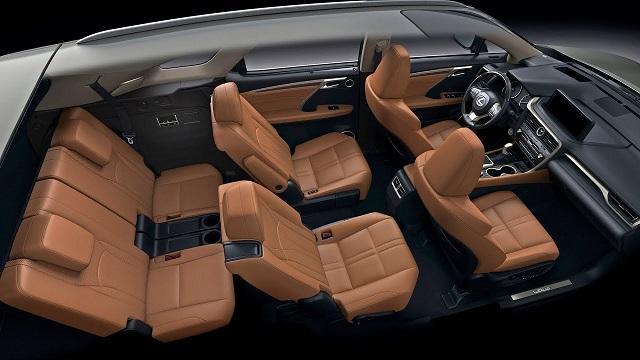 2022 Lexus RX 350 L interior