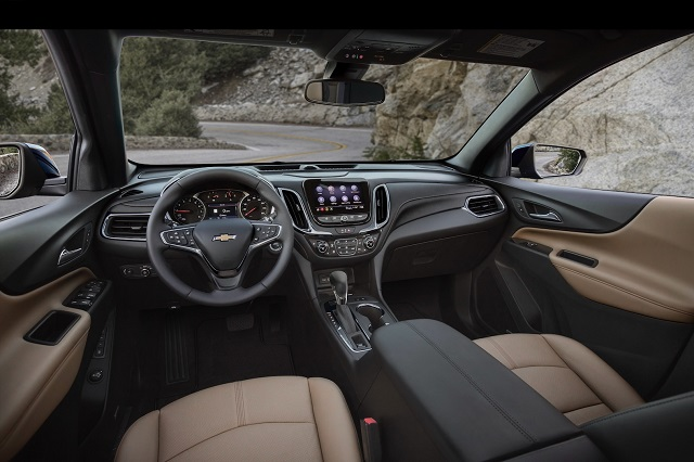2022 Chevy Equinox Interior