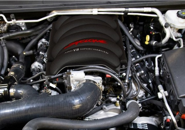 2022 GMC Syclone engine