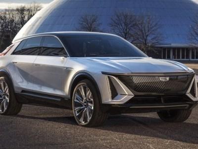 2022 Cadillac Lyriq render