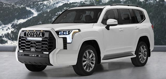 2023 Toyota Sequoia render