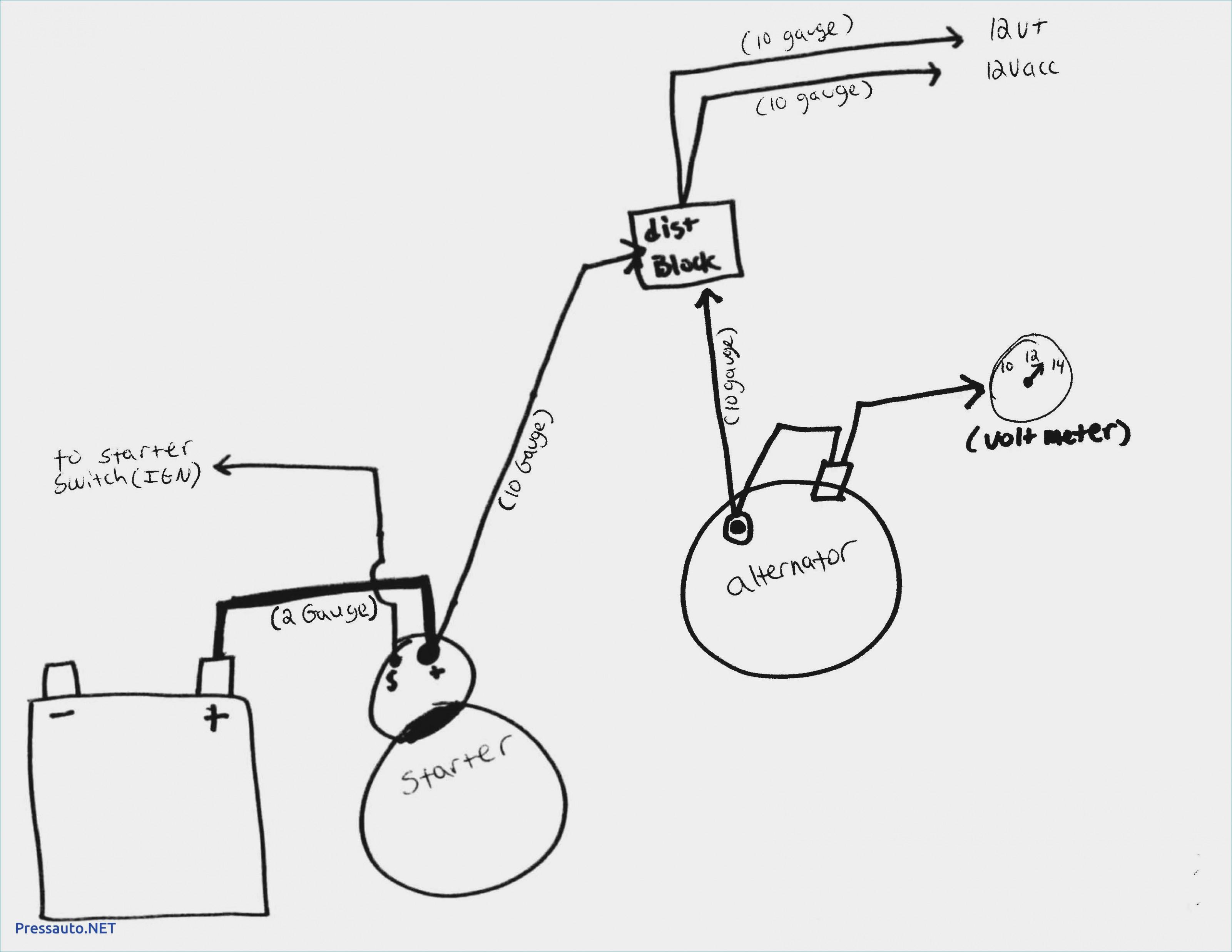 Dodge 3 Wire Alternator Diagram