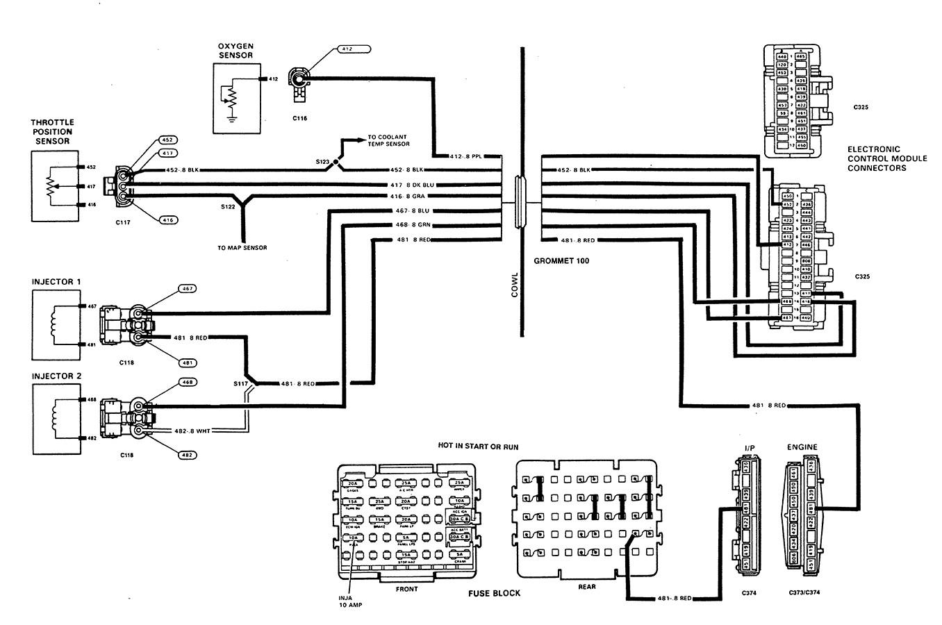 4 Wire Oxygen Sensor Diagram Toyota
