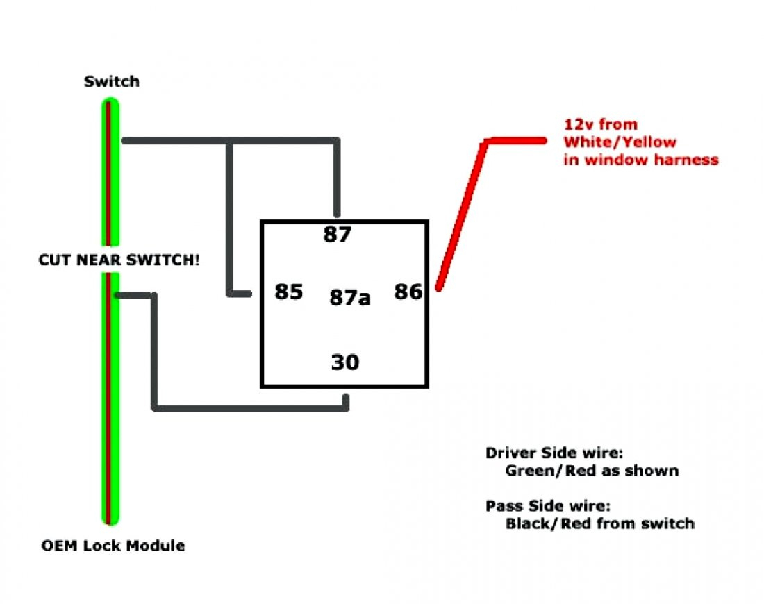 Gallery 5 Prong Relay Wiring Diagram Fresh 4 Pin