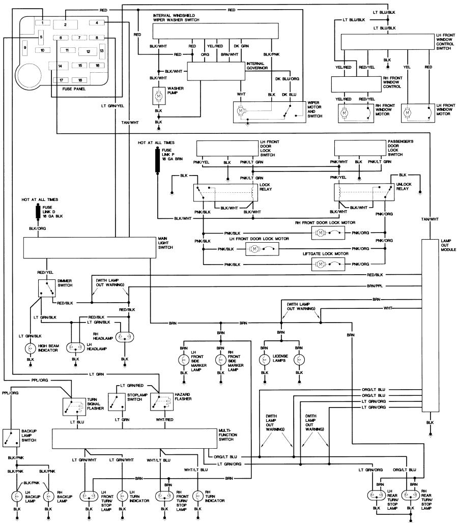 The Bronco Ii Corral Library Wiring Diagram FULL HD