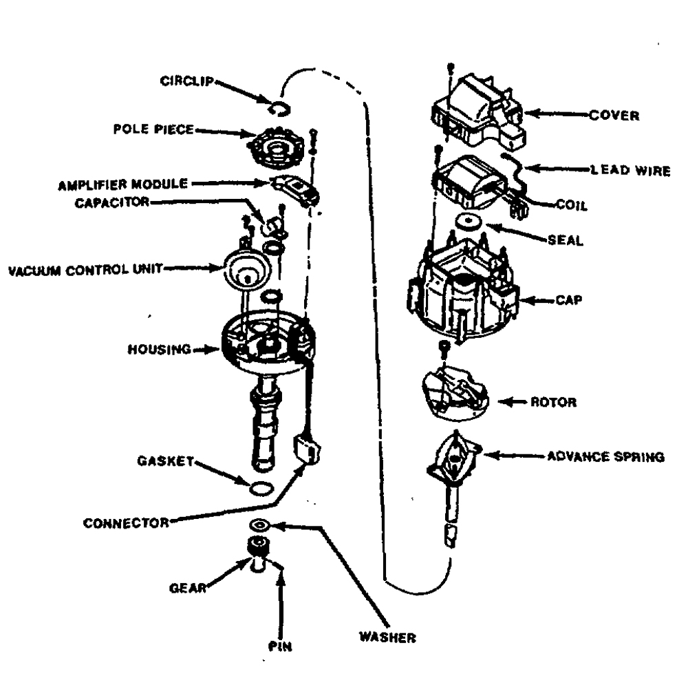 Mallory Electronic Distributor Wiring Diagram Simple