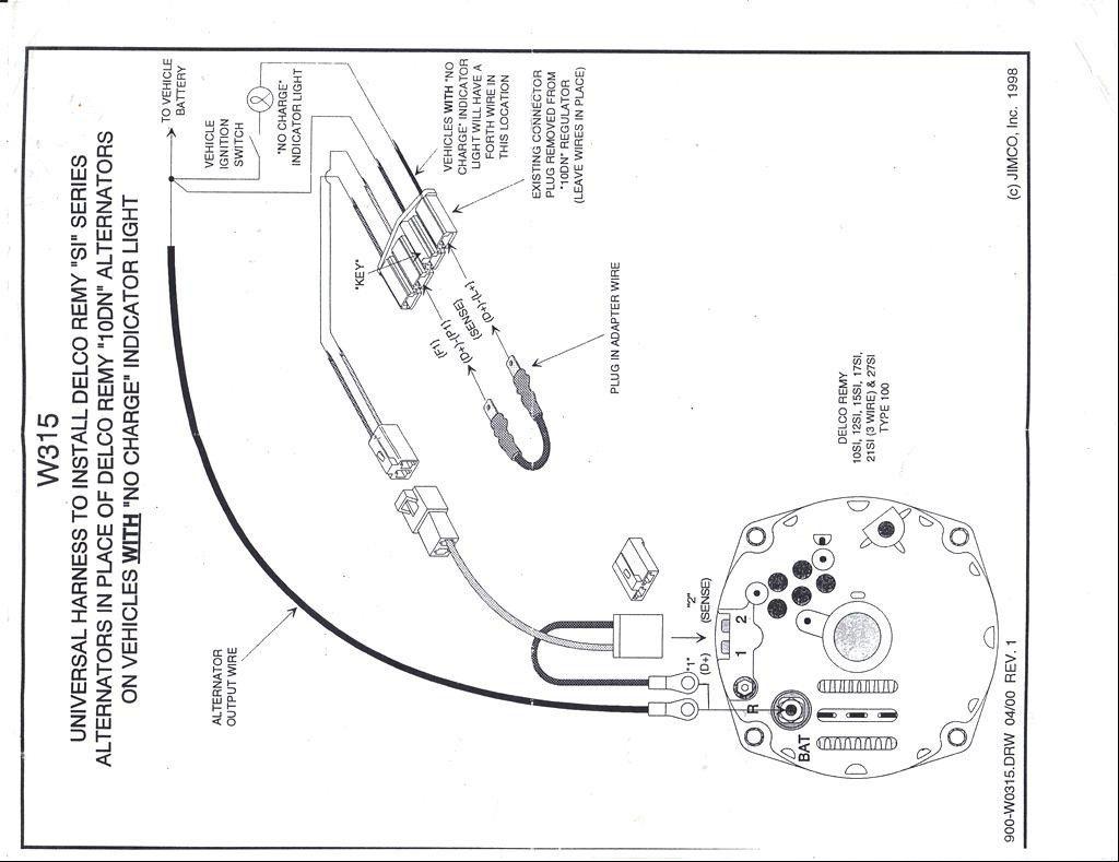 Delco Remy External Voltage Regulator Wiring Diagram