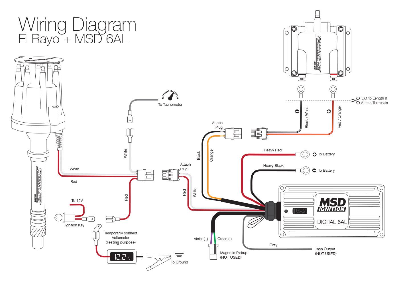 Distributor Wiring Diagram