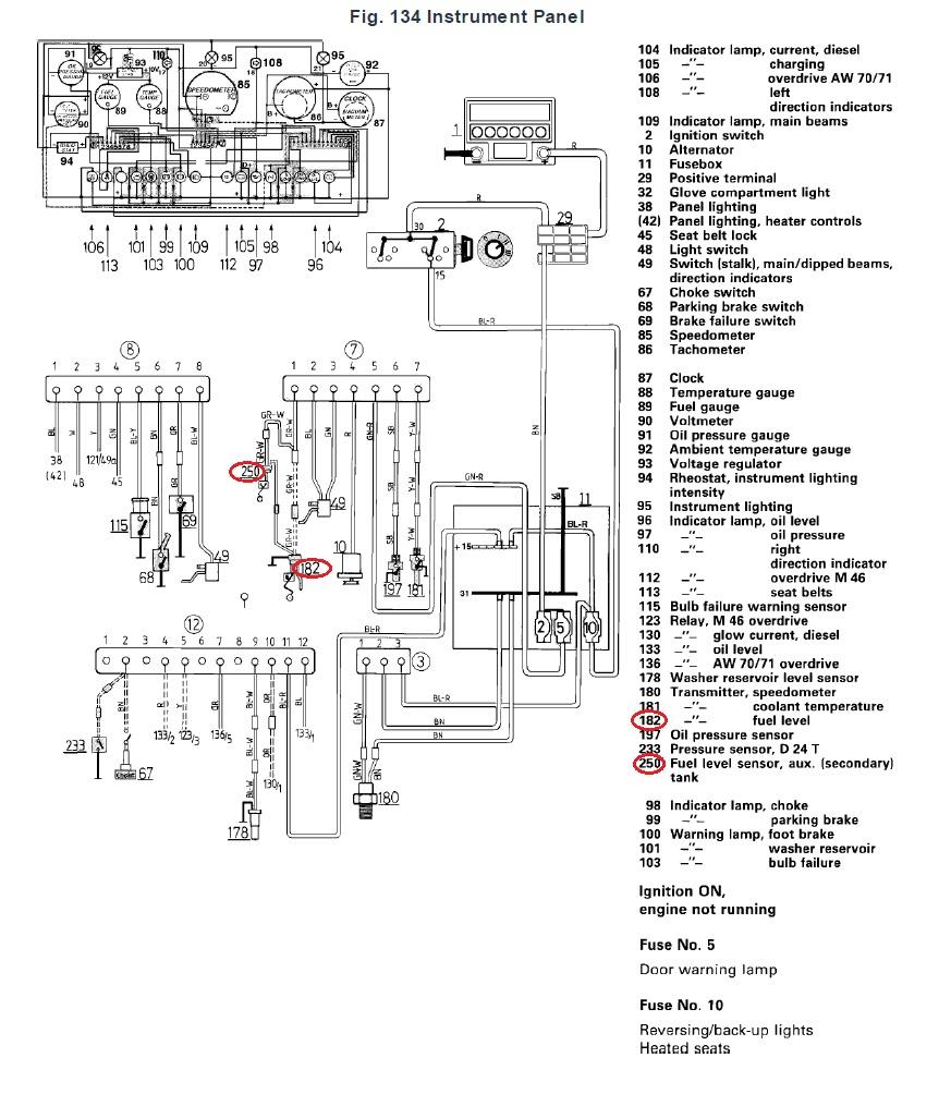 1973-1977 Monte Carlo Fuel Tank Sending Unit 5/16