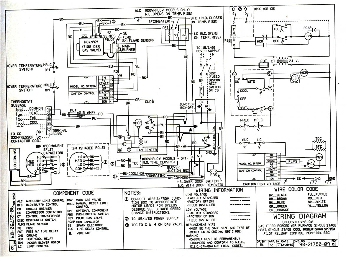 Ge Gas Furnace Wiring Wiring Diagram