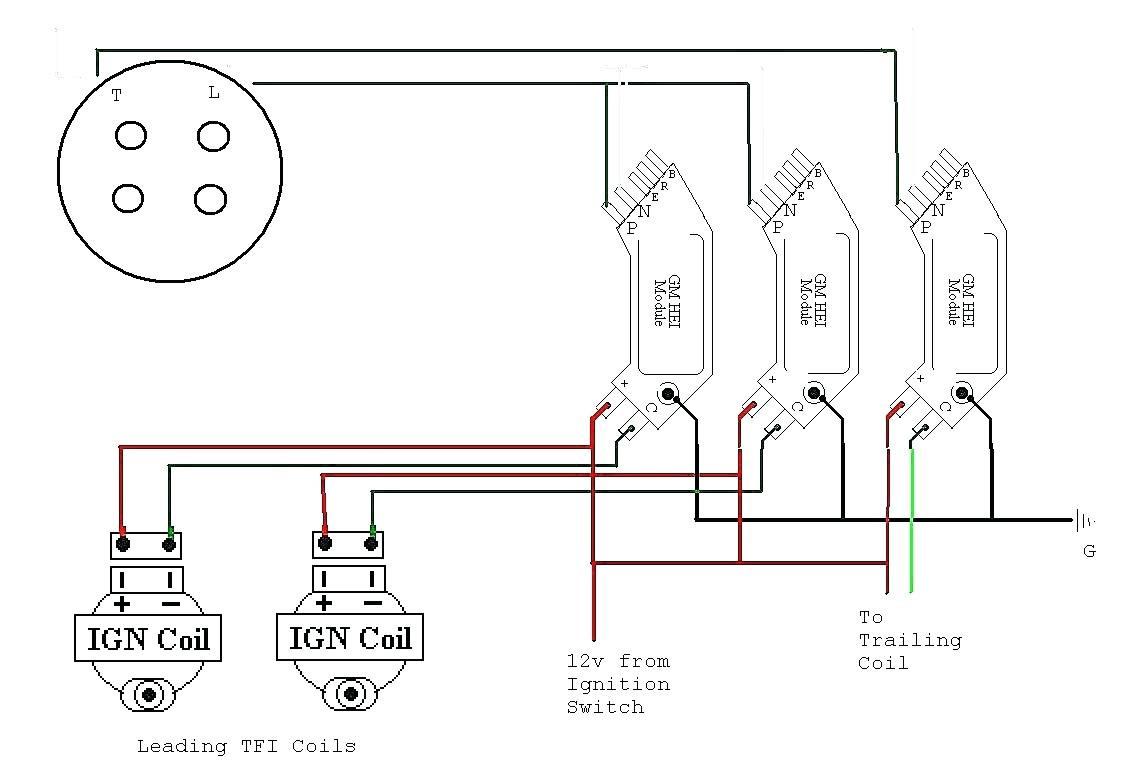 Mitsubishi Ignition Coil Wiring Diagram