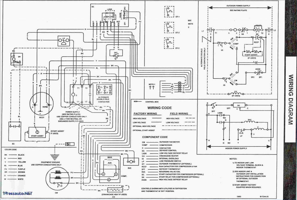 Goodman-Gmp-075-3-Furnace-Control-Board-Wiring-Diagram