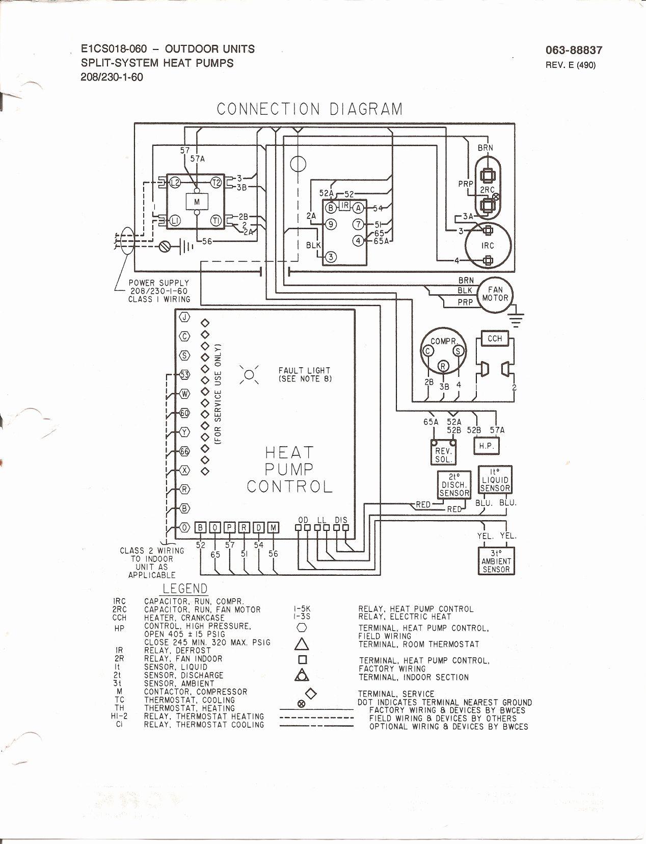 Goodman Air Handler To Heat Pump Wiring Diagram