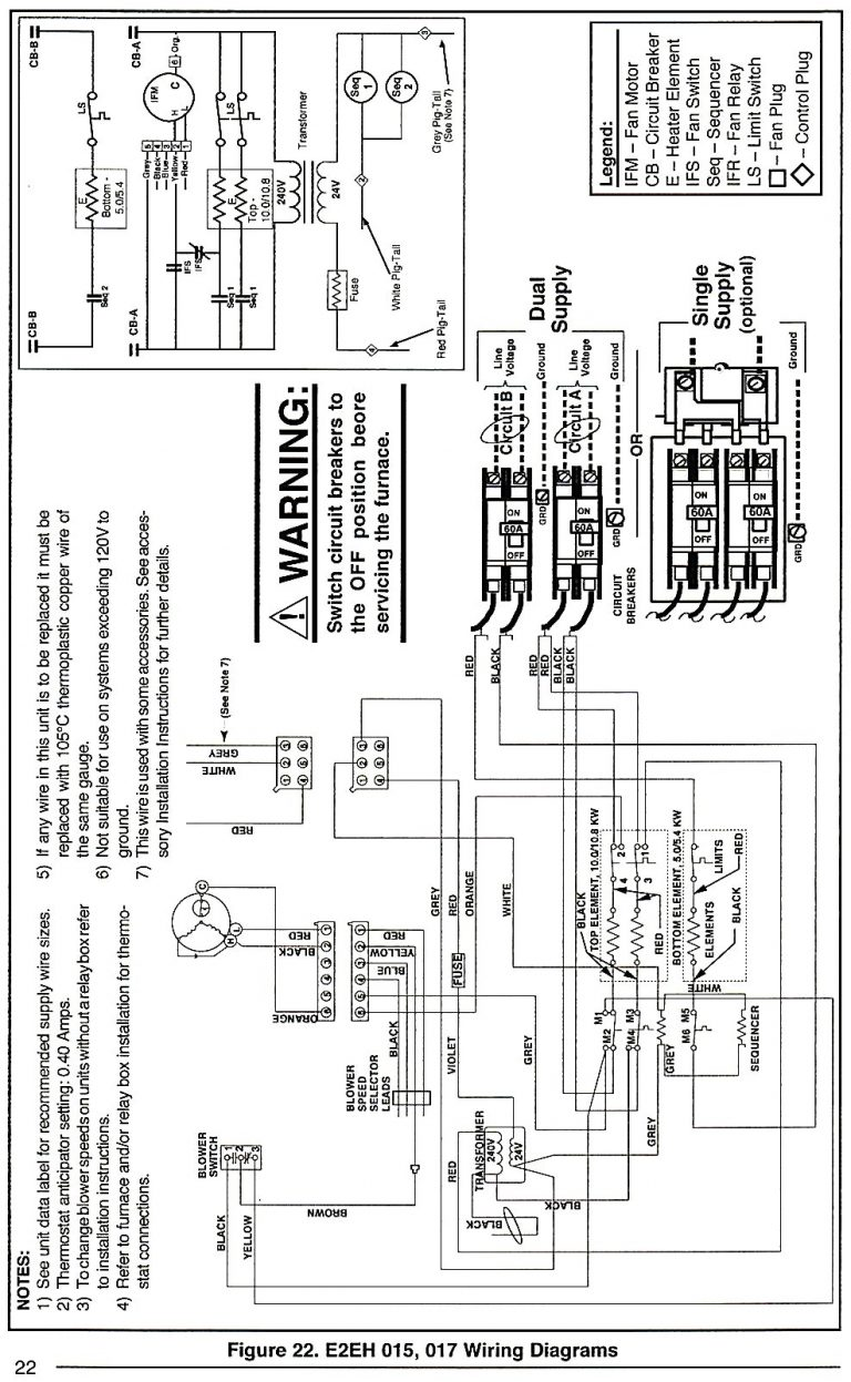 Intertherm Electric Furnace Wiring Diagram Gorgeous Model