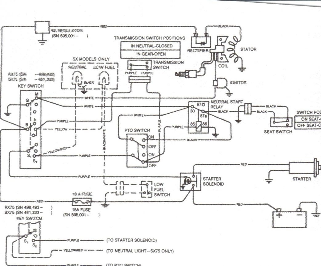 [DIAGRAM] Light Wiring Diagram Kubota B4200 FULL Version