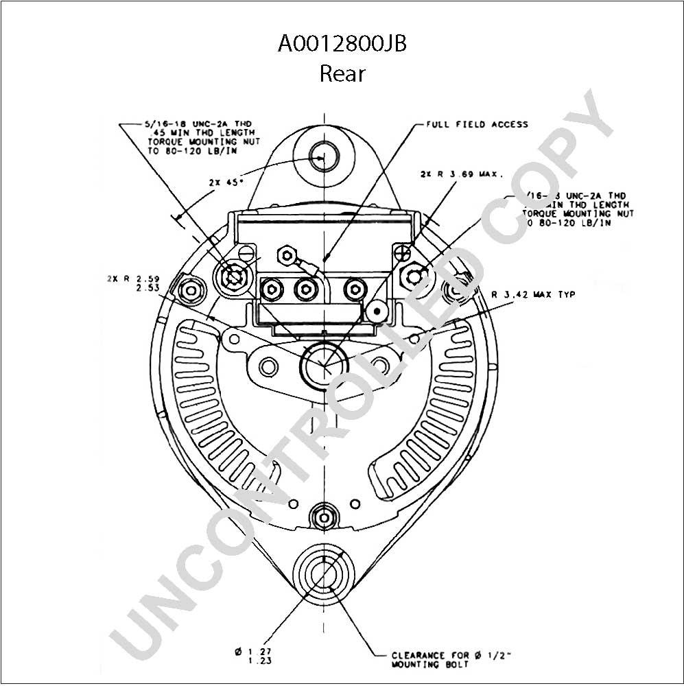 Prestolite Alternator Wiring Diagram Database
