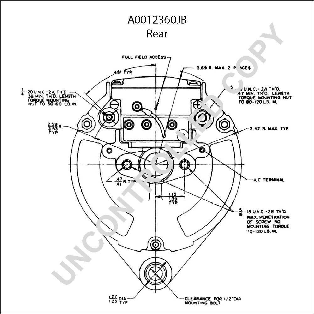 [DIAGRAM] Leece Neville Pad Mount Alternator Wiring