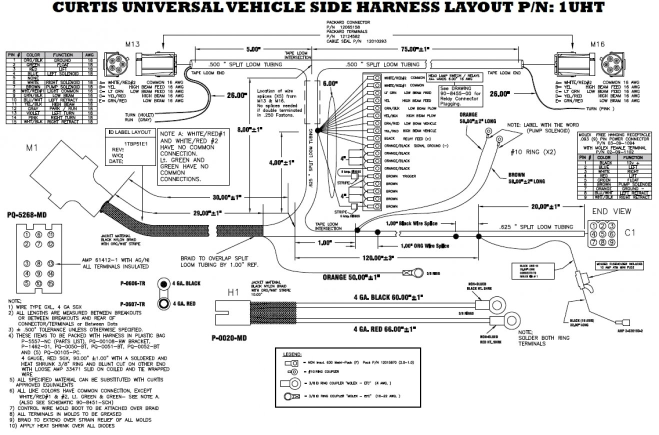 Meyer Snow Plow Lights Wiring Diagram For Meyers Plows At