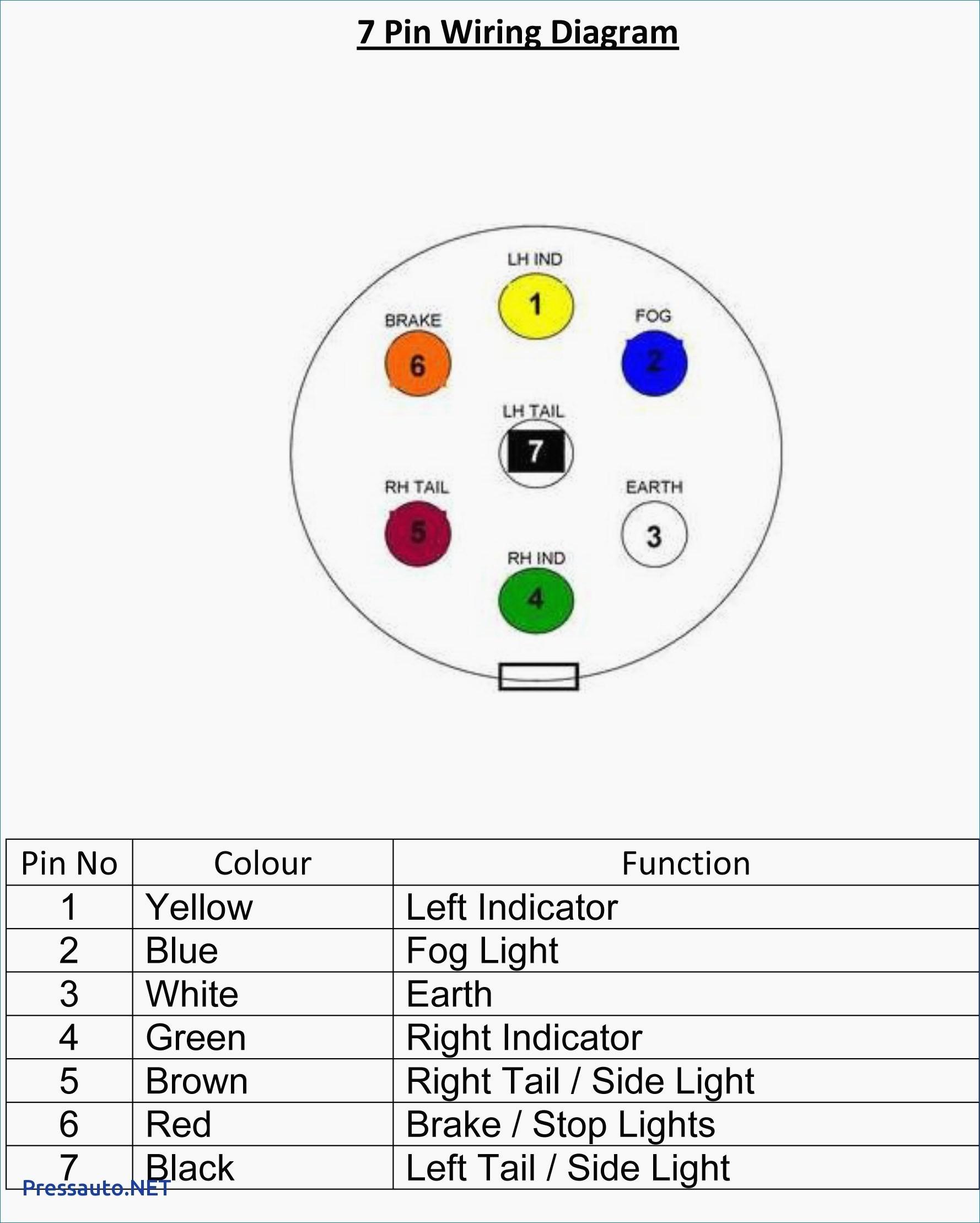Pollak Trailer Plug Wiring Diagram