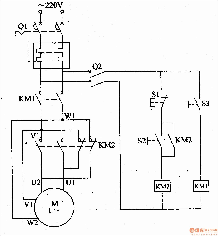 Single Phase Reversing Motor Wiring Diagram