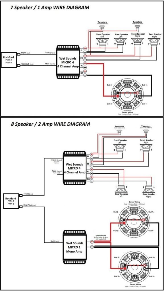 2 Channel Amp Wiring Diagram / Diagram Boss 2 Channel