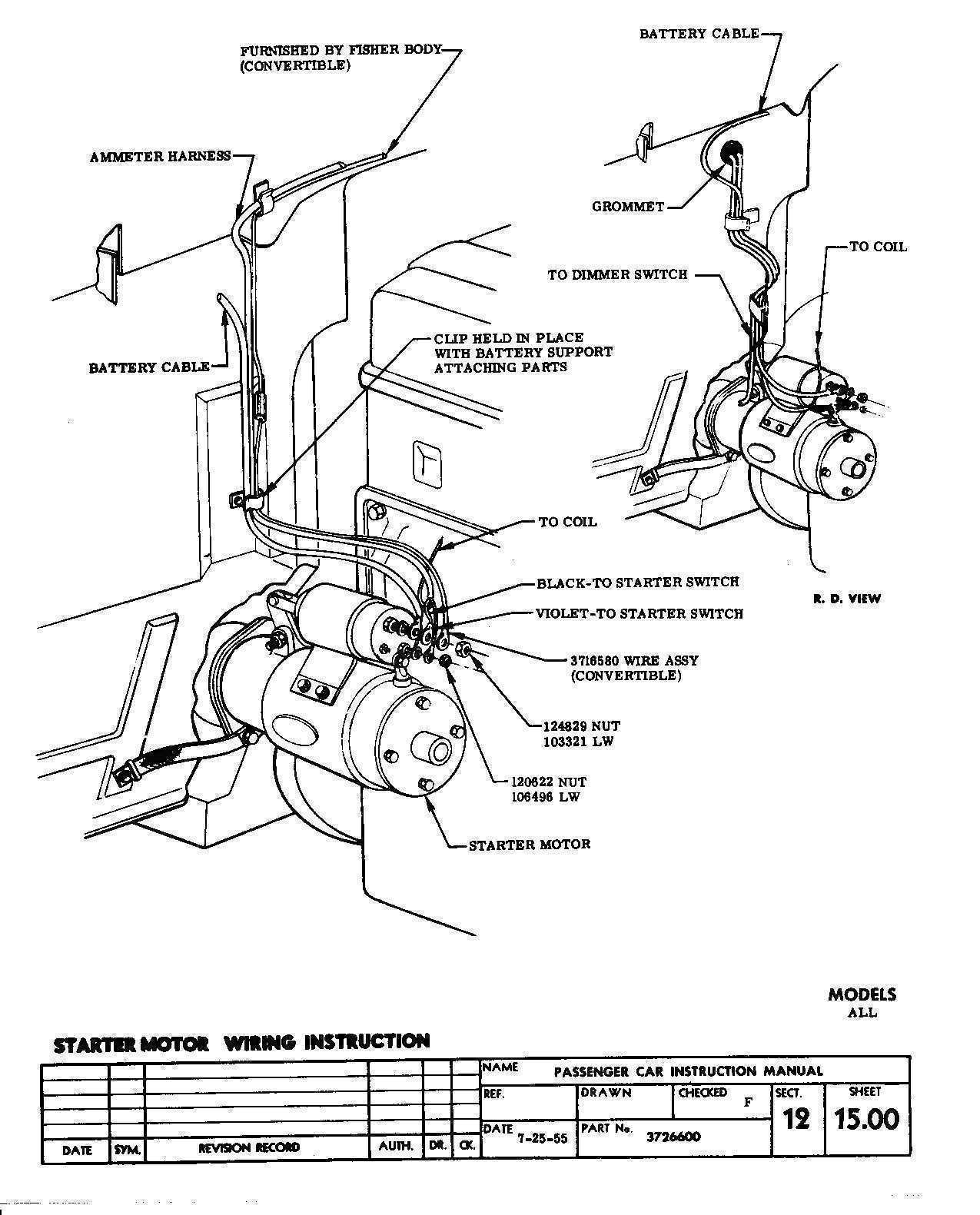 Small Block Chevy Engine Wiring Diagram