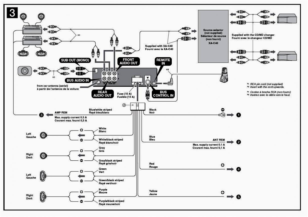 Sony Cdx-Gt10W Radio Wiring Diagram / Cdx Gt10w Where Is