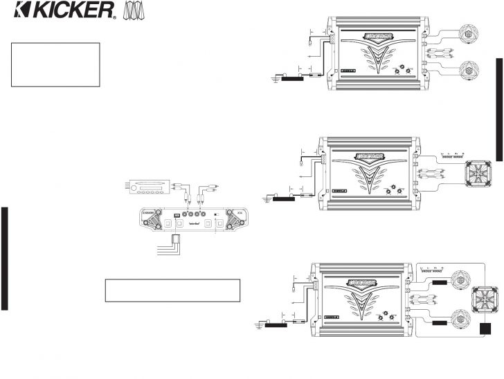 Subwoofer Wiring Diagrams Within Kicker Comp 12 Diagram In