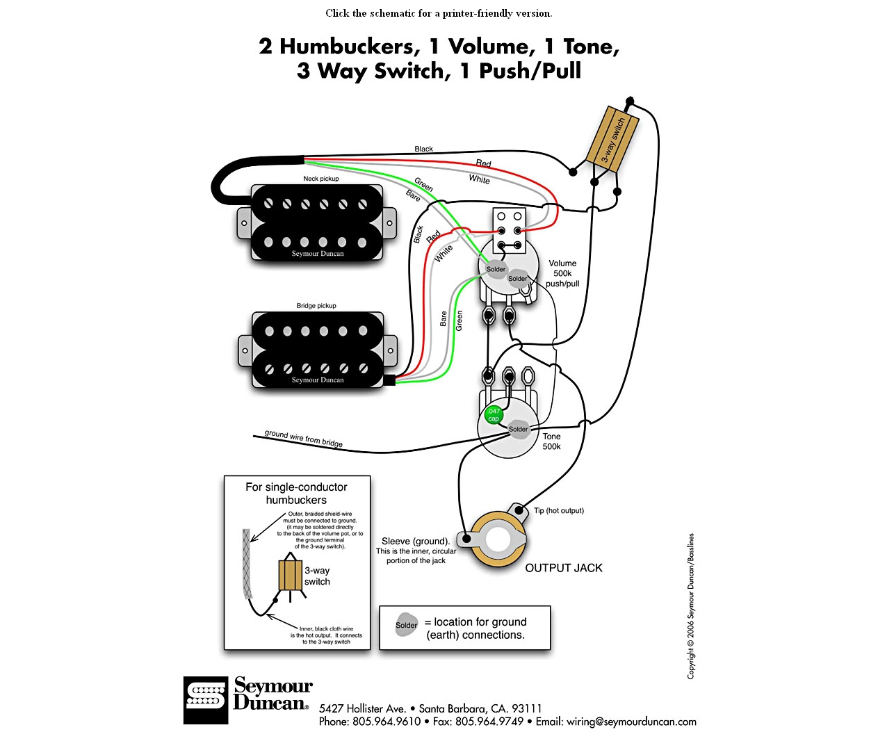 Push Pull Switch Guitar Pickups Hss Split Coil Wiring