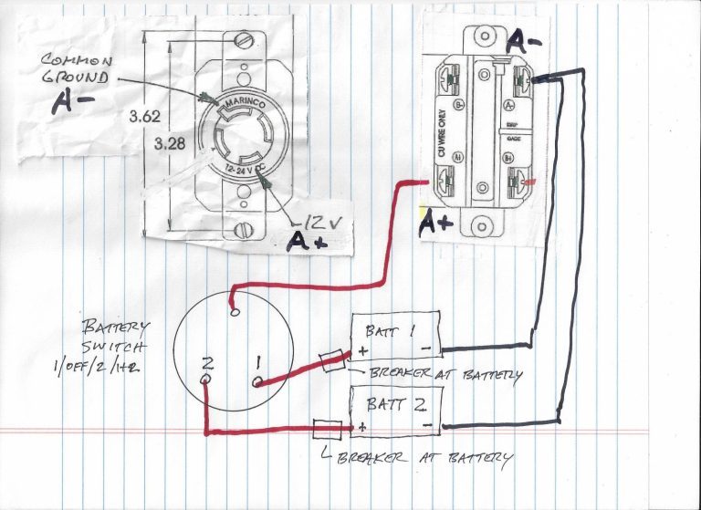 Trolling Motor Battery Wiring Diagram Wiring