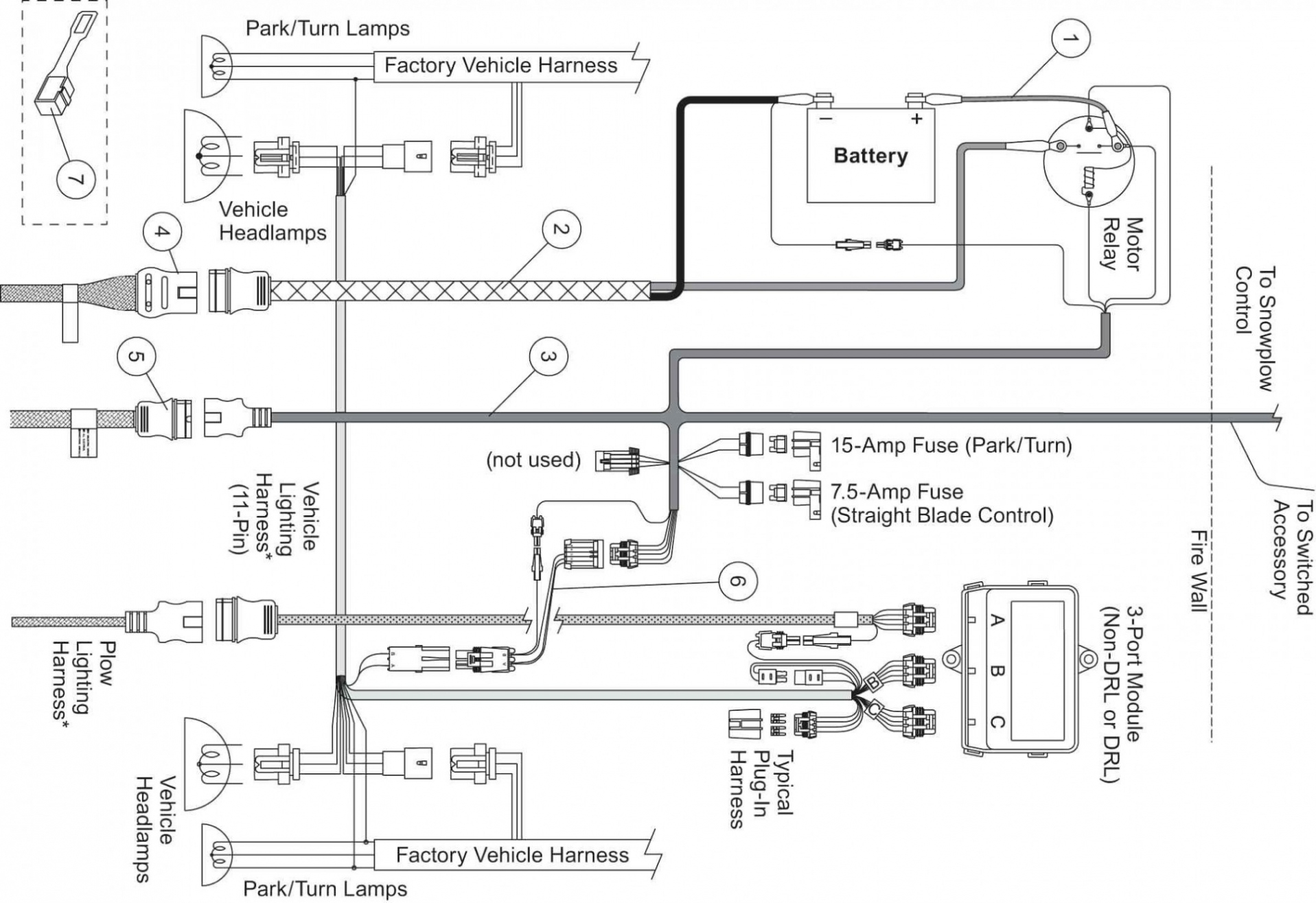Meyers Snowplow Wiring Diagram