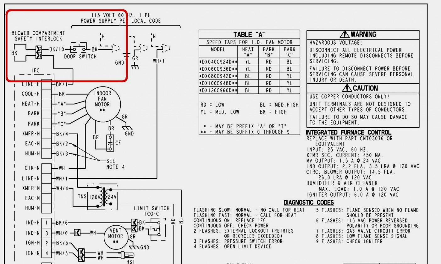 A C Wire Diagram Wiring Diagram